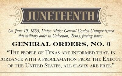 Juneteenth, the End of Slavery